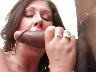large breasted wench wife copulates darksome hunk