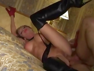 non-professional d like to fuck in leather boots