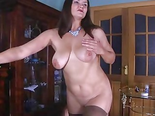 nasty milf baring her curves for fucking
