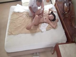 japanese wife reiko receives a wonderful oiled up