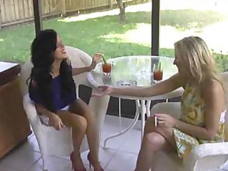 sexy mother i cougars smokin sex three-some