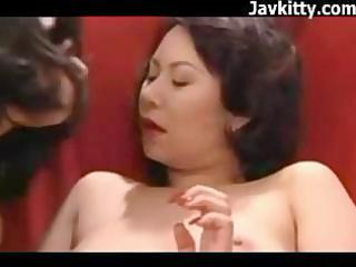 japanese mother i lesbian babes have a sex party