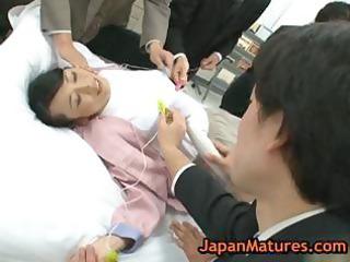 older natsumi kitahara in hawt oriental team fuck