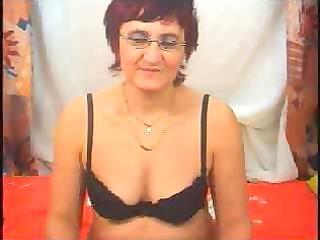 obscene granny in fishnet stockings desires to