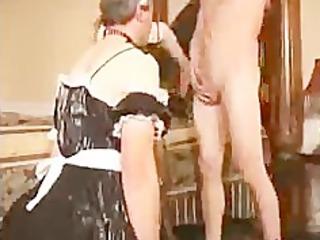 Sissy Husband Sucks Cock For Wife bdsm bondage