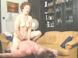 granny susanne drains muscle guy