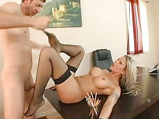 captivating breasty blond d like to fuck acquires