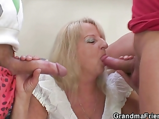 blond granny in sexy some fuckfest