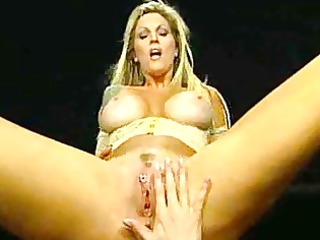 milfs with big scoops and pussy piercing rides