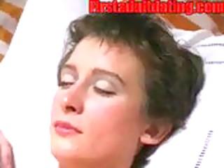 aged dilettante woman masturbate