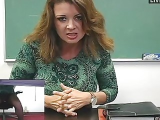 breasty mother i teacher masturbates in hot dark