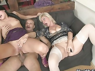 mama licks daughters vagina during the time that
