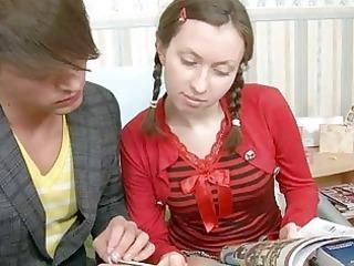 concupiscent teen enjoys older wang