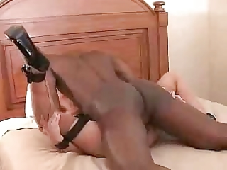 white wife screaming with enjoyment