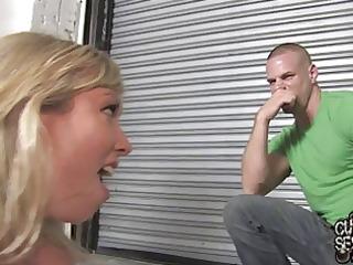 Unfaithful wife Adrianna Nicole fucks in front of