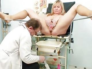 large milk shakes blonde older hirsute twat exam