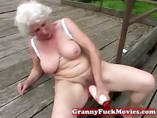 check out this obscene grandma