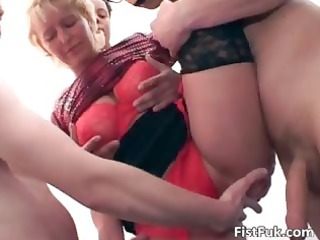 older breasty wench getting gratified part1
