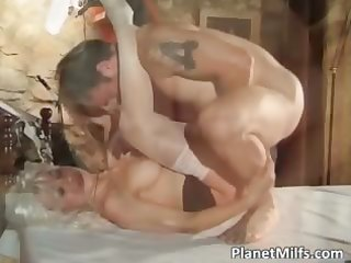 platinum blond d like to fuck got group-fucked