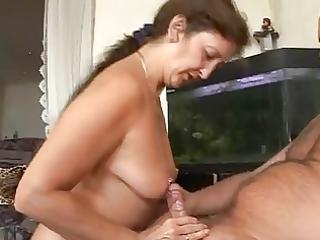 pierced granny likes penis