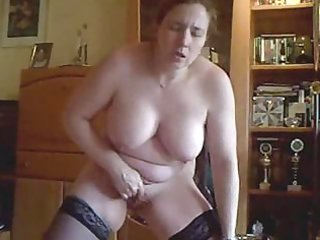 my lewd wife masturbate for in front of cam
