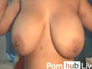 grandestetas from pornhublive plays with biggest