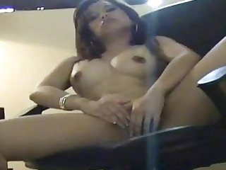 hawt wife masturbates during the time that being