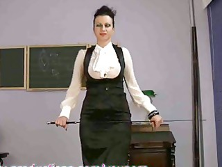 breasty mother i teacher masturbating on sex