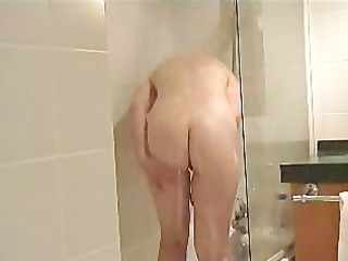 french milf takes a shower