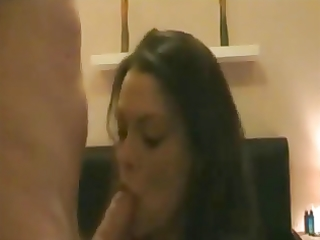 nice-looking wife receives quickie on homemade