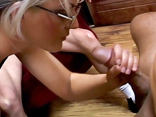 hubby and wife with a stranger male threesome