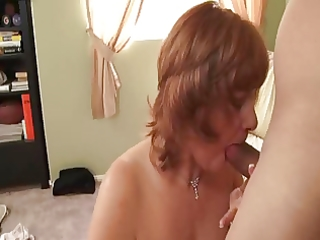 breasty mature redhead calliste garnet