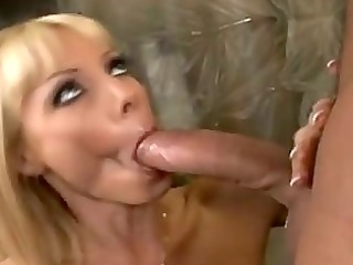 sexually excited momma holly sampson slammed in