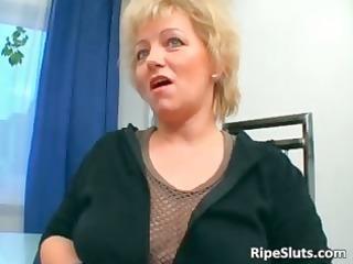 breasty older blond acquires snatch screwed part7
