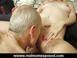 hot golden-haired milf louise homemade banging