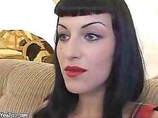 hawt goth playgirl copulates a punk rockers large