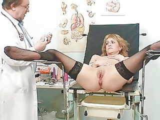 skinny mother i gyno clinic exam by perverted
