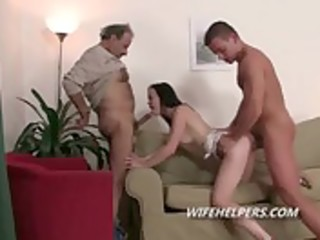 sexy wife allowed to fuck one more fellow