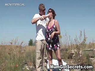 outstanding mum getting her bear muf gangbanged