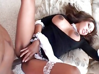 chic large breasted milf floozy nailed from behind
