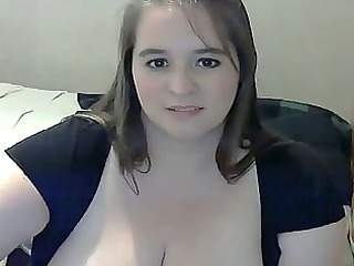 chubby mother i with big breast masturbating on
