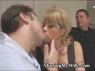 cuckold hubby brings in a recent rod to watch