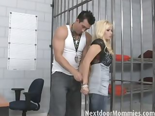 blond mother i fuck a hard cock in jail