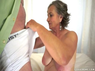 Lusty Grandmas Kata A quicky with the granny