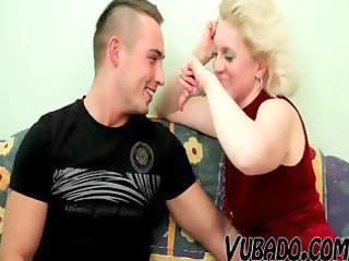 aged tasty blond whore acquires a precious
