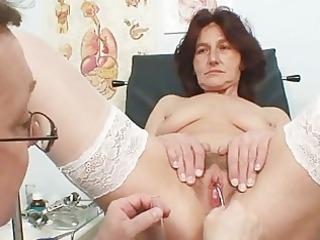 hairy fur pie grandma visits pervy woman doctor