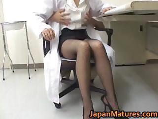 excellent nurse is a hawt mature beauty part7