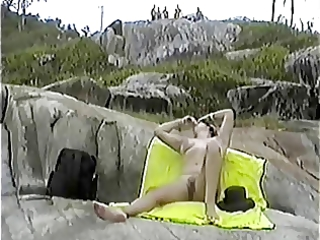 my exhibitionist wife beatrice on the beach 11