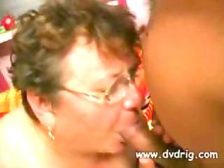 horny grandma bonks nephew