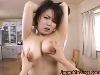 miki sato real oriental mum has groupsex